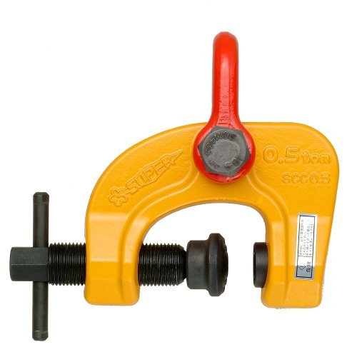 Supertool Screw adjusted Cam Clamp SAC/ SCC1.5 (1.5 TON) by (Ton Sac Clamp)