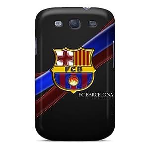 AaronBlanchette Samsung Galaxy S3 Protective Hard Phone Covers Allow Personal Design Vivid Fc Barcelona Skin [FKv8887pcFI]