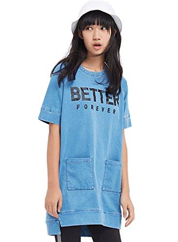 meters-bonwe-womens-casual-short-sleeve-pullover-mini-denim-dress-light-blue-m