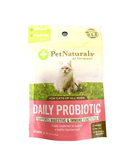 Cheapest Pet Naturals of Vermont Daily Digest Fun-Shaped Chews for Cats Check this out.