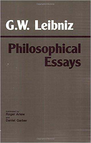 amazon com leibniz philosophical essays hackett classics  leibniz philosophical essays hackett classics 1st edition