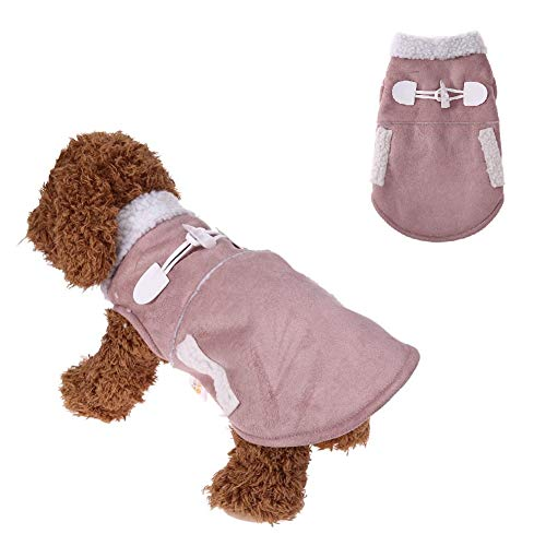 Stock Show Pet Dog Clothes Winter Jackets Suit Warm Velet Fleece Vest Small Dog Motorcycle Waistcoat Coat Costume Apparel Clothing for Small Dogs Puppy Doggie Chihuahua Cat, ()