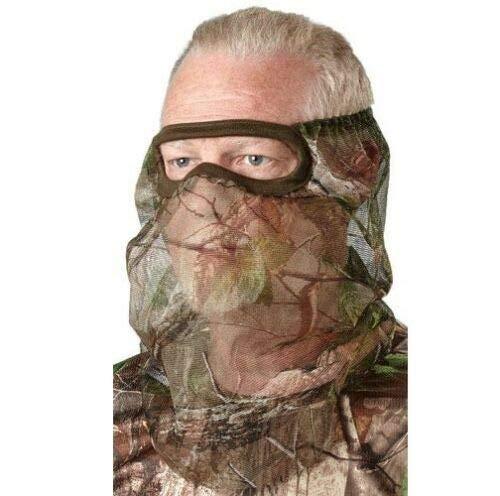 Net 3/4 Face Mask - Hunter's Specialties 100121 RT EDG CAMO 3/4 FACE MASK