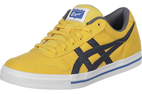 Onitsuka Tiger Aaron, Unisex-Adults' Trainers Yellow/Blue