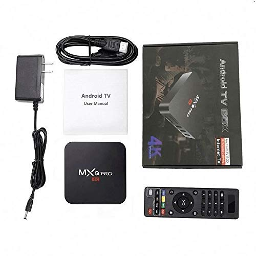 MXQ Pro 4K 3D 64Bit Quad Android 7.1 Core Smart TV for sale  Delivered anywhere in USA