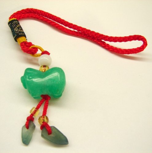 Jade Lucky Charms - Chinese Pig (Chinese Jade Pig)