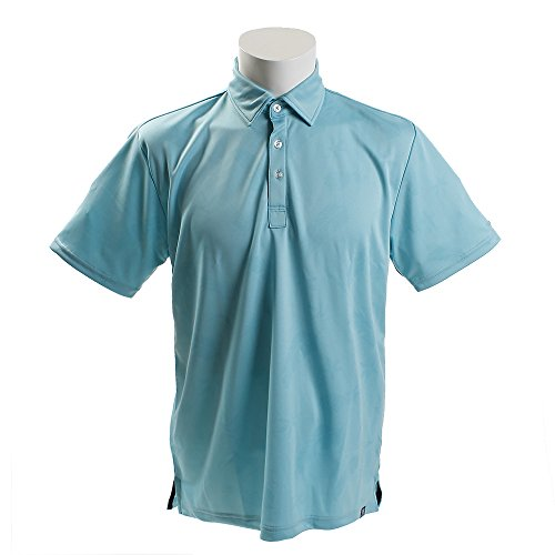 PG(PG) 柄ポロシャツ PGTJ1802-LBLU