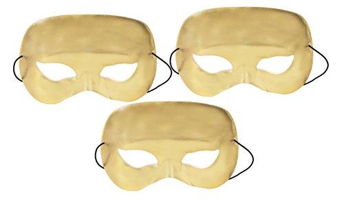 Darice Half Face Mask Gold