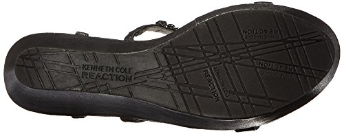 Kenneth Cole Reaction Womens Sole Bling Open Toe Casual Platform Sandals Black yE62U2YRsY