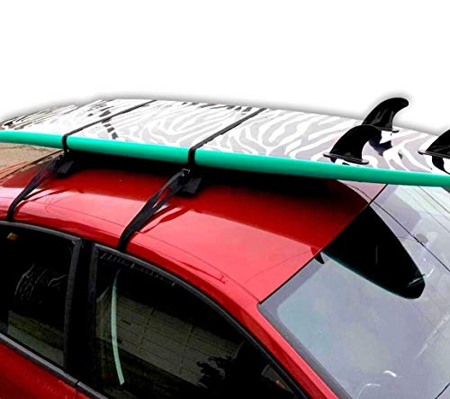 Block Surf Surfboard Roof Rack, Universal Fit for Cars and SUVs (Best Longboard Surfing Videos)