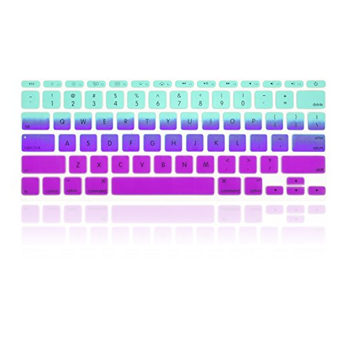 TopCase Purple Silicone Keyboard Macbook