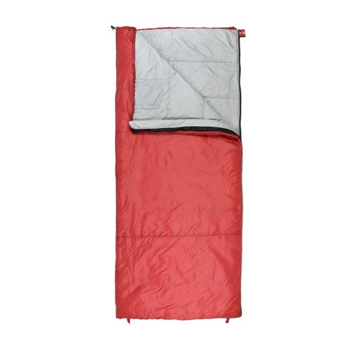 - Chinook Superlite Rect 45-Degree F Sleeping Bag, Red