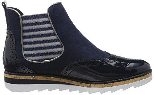 Marco Tozzi 2-2-25403-28 596, Botas Chelsea Mujer Azul (Navy Comb 890)
