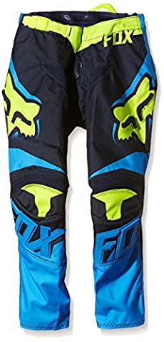 Fox Racing 180 Race Youth Boys Off-Road Motorcycle Pants - Blue/Yellow / Size 24