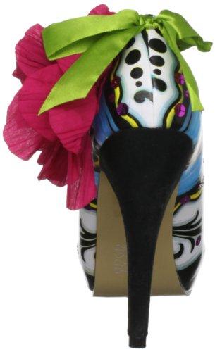 Iron Fist Ladykiller Platform - zapatos de tacón de poliuretano mujer blanco - blanco