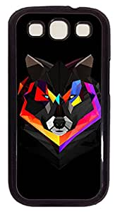 Samsung Galaxy S3 I9300 Cases & Covers - Techno Wolf PC Custom Soft Case Cover Protector for Samsung Galaxy S3 I9300 - Black