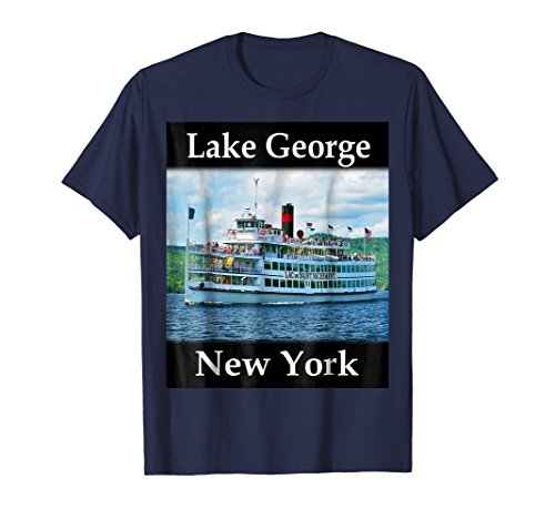 Yellow House Outlet: Lake George, New York T-Shirt