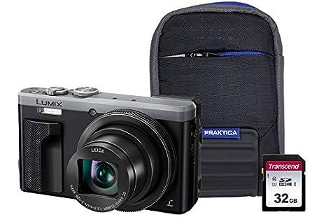 Panasonic DMC-TZ80 - Kit de cámara (Incluye Funda y Tarjeta SD de ...