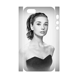 Customized case Audrey Hepburn Diy 3D Case for iPhone 5,5S UN931901