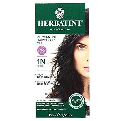 Herbatint Hr Color 1n Black, Pack of 2