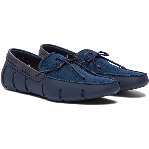 Swims Herren Braided Lace Loafer Slipper blau (marineblau)