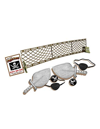 (Cortex Toys Pirate Pong - Portable Themed Table Tennis Set)