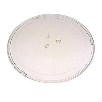 Diámetro: 30 cm-Plato giratorio para horno microondas brandt ...