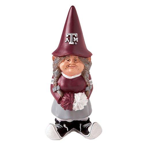 Texas A&M Cheerleader Garden Gnome
