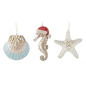 41z-ee-oiuL._SS300_ 500+ Beach Christmas Ornaments and Nautical Christmas Ornaments For 2020