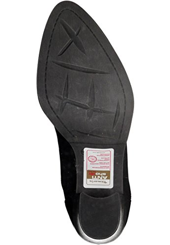 Barco Tamaris Cuero Bota zapato tocarlo suela y tacón negro AntiShokk 1-25377-27 001 Negro, Tamaris Damen-Schuhe:39