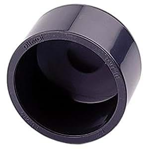 Empalme PVC presión–Tapón PVC presión para pegar f ø40