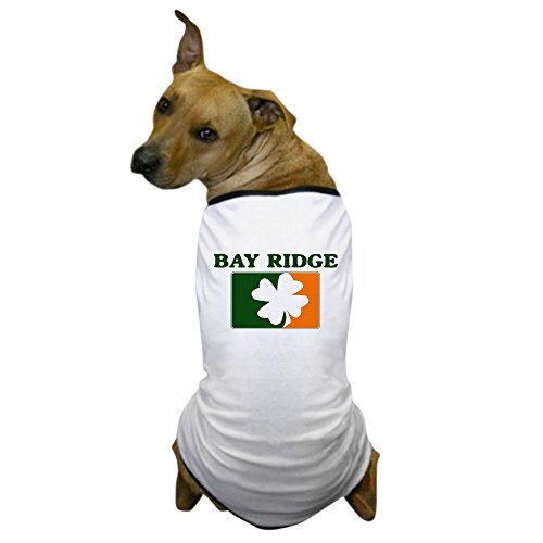 CafePress - Bay Ridge Irish (orange) Dog T-Shirt - Dog T-Shirt, Pet Clothing, Funny Dog (Shamrock Bay)