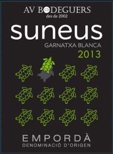 2013 AV Bodeguers Suneus White Wine