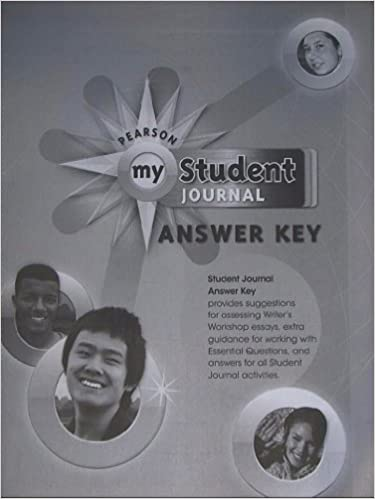 Pearson My Student Journal Answer Key For My World