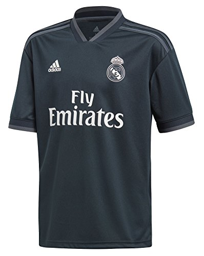 adidas World Cup Soccer Real Madrid Soccer Youth Real Madrid Away Jersey, Small, Tech Onix