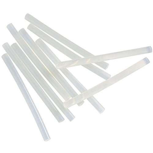 TrendBox Pack of 50 Clear 11mmx200mm - Hot Melt Glue Sticks Strips Melting Adhesive for Handmade Craft DIY Home Office Project Craftwork Fix & Repairs