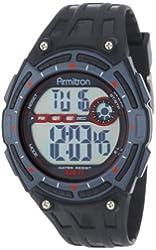 Armitron Sport Men's 408227BLK Chronograph Black Resin Multi-Functional Digital Watch