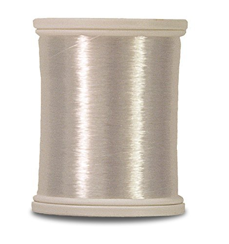 2,200 Yds. Clear Superior Threads Monopoly Reduced-Sheen Polyester Thread for Quilting and Invisible Applique