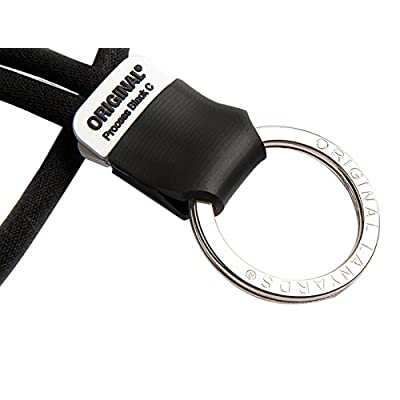 Original Lanyards Solid Process Porte-Clefs Mixte Adulte, Process Black