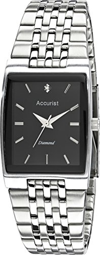 Accurist Mens Diamond Set Watch And Pen Gift Set MB1121