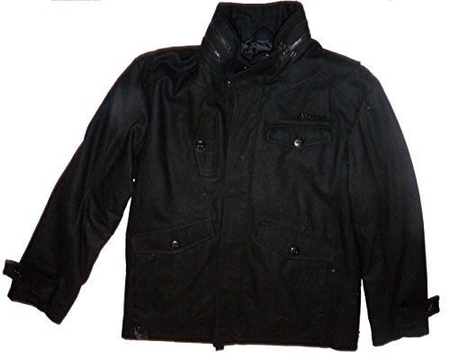 - Rocawear Men's Wool Blend Black Jacket (XL)