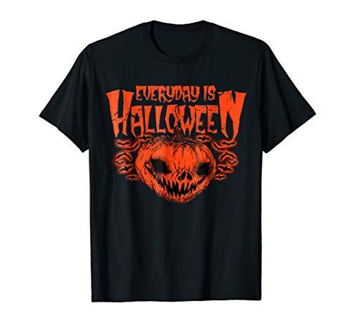 Everyday Is Halloween TShirts Horror Halloween Pumpkin Shirt
