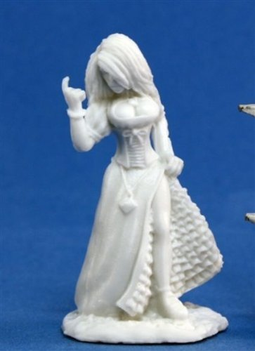 Reaper 77086: Townsfolk: Strumpet - Dark Heaven Bones Plastic Miniature