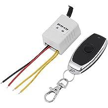DC 4V 5V 6V 7.4V 9V 12V Wireless Relay Remote Control One Key Switch Receiver + Transmitter for Computer,Auto Door,Window