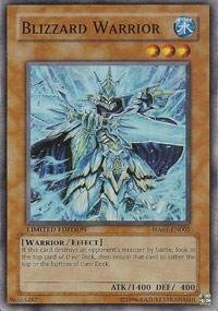 Yu-Gi-Oh! - Blizzard Warrior (HA01-EN002) - Hidden Arsenal - 1st Edition - Super Rare