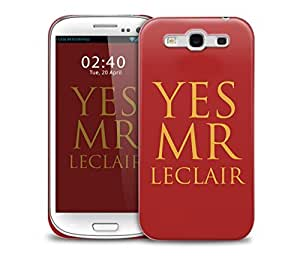 yes mr leclair selfridge Samsung Galaxy S3 GS3 protective phone case