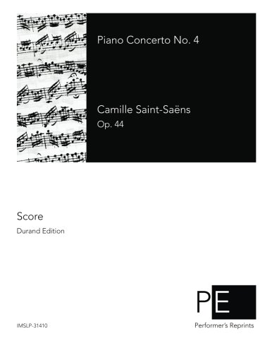 Piano Concerto No. 4 by CreateSpace Independent Publishing Platform