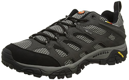 Merrell WoMen Moab Gore-Tex Low Rise Hiking Shoes Grey (Beluga)
