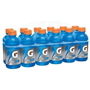 Gatorade Fierce Blue Cherry Sports Drink, 12 fl oz, 12 count