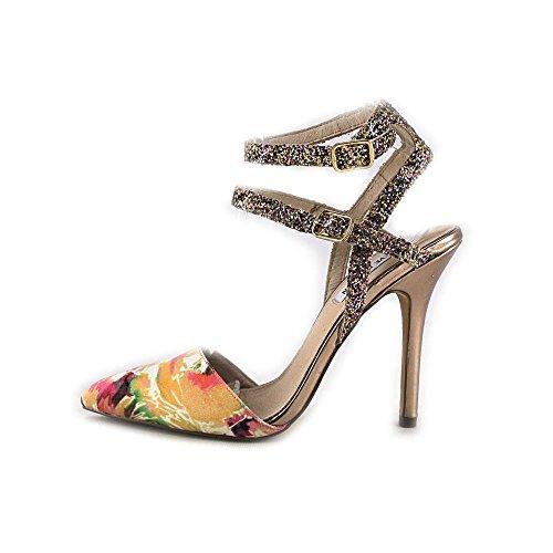 Steve Madden s zapato Porttt-f vestido de la bomba de la sandalia Floral Multi